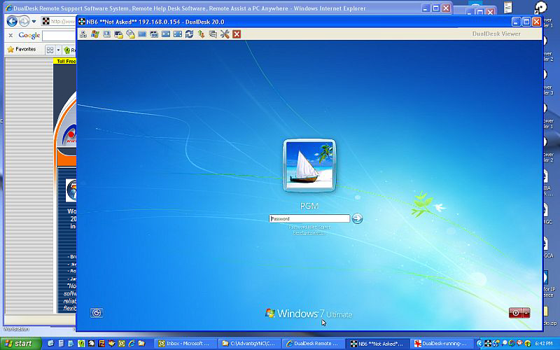 symantec pcanywhere free  windows 7